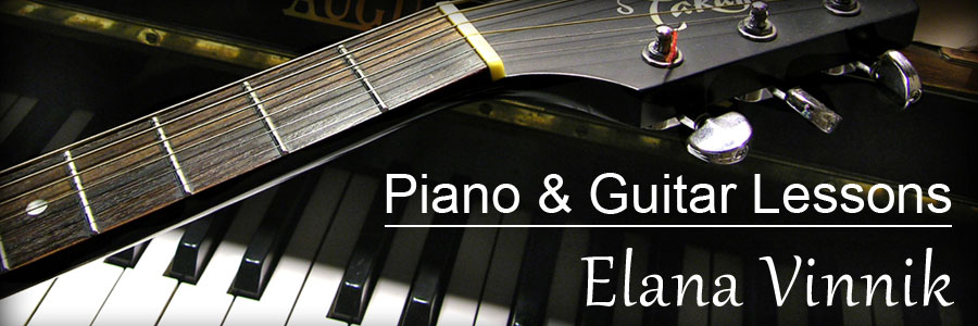 Toronto Piano and Guitar Lessons